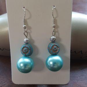 Jewelry - 🌹💙 Blue Rose Statement Earrings 💃